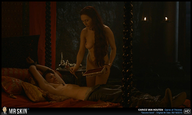 Carice Van Houten nude in Game of Thrones