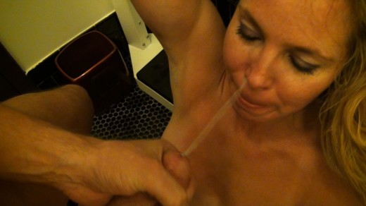 Tami 'Pippi Longstocking' Erin gets a cumshot in her face in her sex tape Pippi Exposed